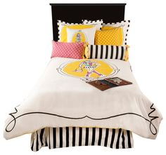Cassidy White Full Size Kids Comforter Bed Set - contemporary - Duvet Covers And Duvet Sets - Michael Anthony Furniture