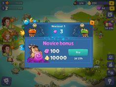 Adventure Era | XP Reward | UI HUD User Interface Game Art GUI iOS Apps Games | www.girlvsgui.com