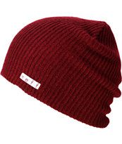 Neff Daily Slouch beanie for cold nights and good times. This neff beanie is a soft and stretchy knit hat that goes with any outfit and fits right under your helmet so you can ride in comfort and style all day and all night long. Slouch Beanie, Grey Beanie, Beanie Hats, Action Sport, Snapback, Winter Hats For Women, Hats For Sale, Maroon Color, Red Color