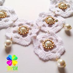 Maxi Collar en Crochet y Soutache! Tredi Enamorada