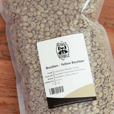 Santos raw coffee from Brazil. One of Brazil's best coffees (Cup of Excellence) for roasting at home. Best Coffee Cup, Coffee Cups, Coffee Roasting, Your Message, Coffee Drinks, Bourbon, Brazil, Almond, Cards Against Humanity
