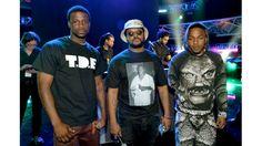 TDE's Jay Rock, Schoolboy q & Kendrick