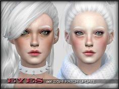 The Sims Resource: Eye Sets by Shojo Angel • Sims 4 Downloads