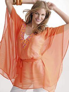 Como hacer una blusa de gaza para el verano | Mimundomanual