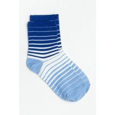 Gradient striped socks Striped Socks, Stripe Print, Fashion, Moda, Fashion Styles, Fashion Illustrations