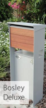 Bosley designer mailbox from Frontyard Art