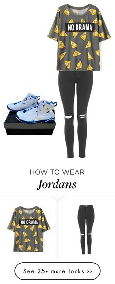 """Untitled #26"" by leggie909 on Polyvore featuring Topshop and NIKE"