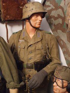 DAK infantryman. Museum.