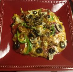 Fabulous cauliflower pizza  video recipe. Low carb