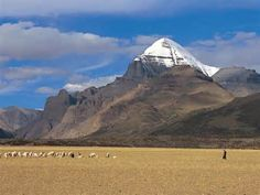 Mount Kailash has never been climbed and is considered a sacred site in Tibet.