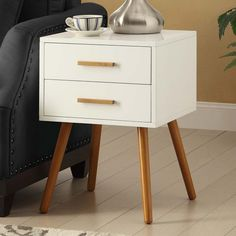 Add a functional area anywhere in your home or office with the Convenience Concepts Oslo Storage Console Table . This modern console table features two. Square Tables, End Tables, Furniture Styles, Home Furniture, Modern Console Tables, Bedside Tables, Engineered Wood, Contemporary Furniture, Bedroom Decor