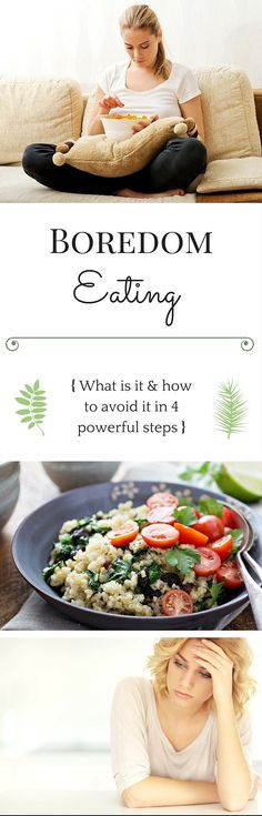 Have you struggled with eating even though you weren't hungry or just because you had nothing better to do? We've all been there. Learn 4 simple yet powerful strategies to stop this annoying habit.