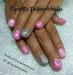 Girly Overlay by TwistedNails - Nail Art Gallery nailartgallery.nailsmag.com by Nails Magazine www.nailsmag.com #nailart