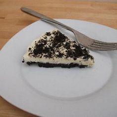 Oreo and white chocolate cheesecake
