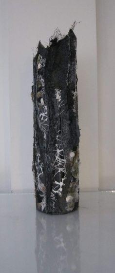 Posts about Vessels written by Marian Jazmik Sculpture Art, Sculptures, Close Up Art, Coral Art, Kinetic Art, Textiles, Art Deco Lighting, Tree Bark, Fabric Manipulation
