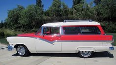 1956 Ford Parklane Wagon GoodGuys Nationals Award of Excellence presented as lot T115 at Monterey, CA 2015 - image2