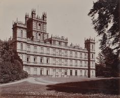 Real-Life Downton Abbey Photo Album for Sale - Highclere Castle history