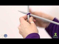▶ Como montar puntos - Aprende punto - Sapeando - YouTube