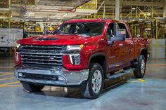 Chevrolet's all-new 2020 Silverado HD pickup drives home the point that a heavy-duty truck's appearance should be in sync with its capability. The typically conservatively designed Silverado HD pickup is Chevy Silverado Hd, Chevy 2500hd, Chevrolet Trax, Chevrolet Trucks, Chevy Trucks, Pickup Trucks, Chevy Duramax, Lifted Chevy, Vehicles