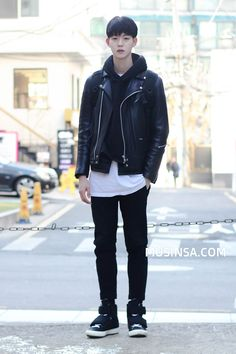 Korean Men Street Fashion Official Korean Fashion - New Site Korean Street Fashion, Korean Fashion Winter, Korean Fashion Casual, Korean Fashion Trends, Korean Outfits, Asian Fashion, Trendy Fashion, Style Fashion, Japanese Fashion Men