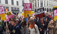 London anti-racism march draws tens of thousands of protesters | World news | The Guardian