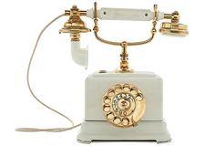 Gatsby style 1920's phone. So fabulous.