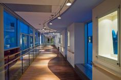 The hall way of an Intensive Care Unit