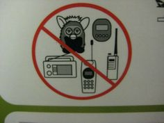 No furby allowed