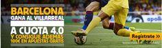 el forero jrvm y todos los bonos de deportes: betfair Barcelona gana Villareal cuota 4 liga mas ...