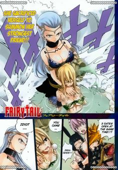 Fairy Tail 384 I sobbed so hard. I'm not ready for this to be animated 0-0