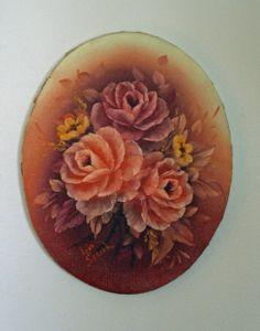 Painting Floral Oil by ATreasuredKeepsake on Etsy, $66.00