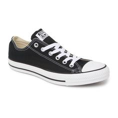 Converse Chuck Taylor All Star Low Top Sneakers ($50) ❤ liked on Polyvore featuring shoes, sneakers, converse, tennis shoes, laced shoes, star sneakers, lace up shoes and laced sneakers