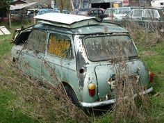 "MK1 Morris Mini Minor  ""Rust In Peace"""