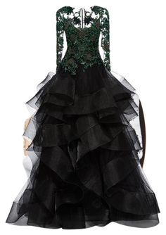 """Untitled #560"" by hannahjoyjacob on Polyvore featuring Marchesa, women's clothing, women, female, woman, misses and juniors"