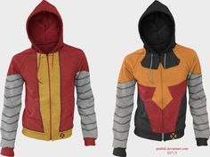 Colossus Hoodies by prathik.deviantart.com on @DeviantArt