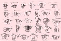 ojos de anime por jhonl22 | Dibujando