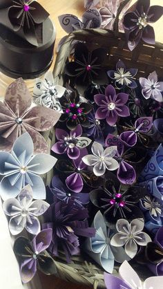Ravens Bouquet  Paper Flower Bouquet  Handcrafted by SwirlyShirley, $30.00