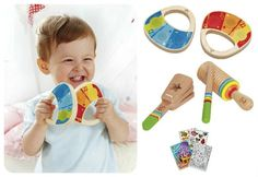 Wood musical instruments for kids! | 6 Fabulous Musical Toys For Tots | greenmomguide.com