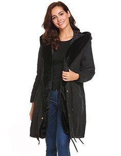 Women's long hooded parka jacket with drawstring waist keeps you warm and nice all day! Great winter long jacket fits for beaches, travel, skiing, or daily wear in any casual occasion. You must have it in autumn and winter!  100% Brand New. Material: 70% Polyester, 10% Spandex, 20%...  More details at https://jackets-lovers.bestselleroutlets.com/ladies-coats-jackets-vests/down-parkas/parkas/product-review-for-soteer-women-thicken-warm-winter-coat-hood-parka-long-jacket
