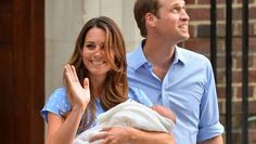 Will & Kate & Baby Boy