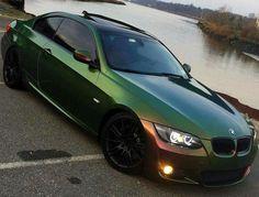 BMW E92 3 series green