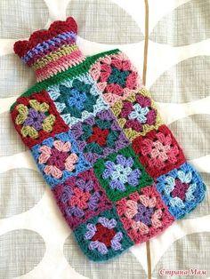 Transcendent Crochet a Solid Granny Square Ideas. Inconceivable Crochet a Solid Granny Square Ideas. Crochet Diy, Crochet Motifs, Granny Square Crochet Pattern, Crochet Home, Love Crochet, Crochet Granny, Beautiful Crochet, Crochet Crafts, Crochet Stitches