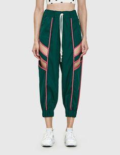 Sbieco Cutout Track Pant by Need Supply Co. Fashion Week, Sport Fashion, Look Fashion, Fashion Outfits, Womens Fashion, Fashion Design, Fashion Trends, Textiles Y Moda, Moda Fitness