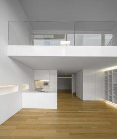 Lapa Building by João Tiago Aguiar, photo: Fernando Guerra Loft Interior Design, Loft Design, Home Room Design, Tiny House Design, Design Case, Modern House Design, Interior Architecture, Design Design, Loft House