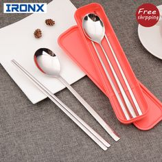 We love it and we know you also love it as well  Portable cutlery set korean dinnerware set 304 stainless steel long handle dinnerware set just only $11.70 - 12.40 with free shipping worldwide  #dinnerware Plese click on picture to see our special price for you