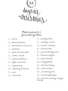 December Album 2014 {Prompts} by LilyandTwig at @studio_calico