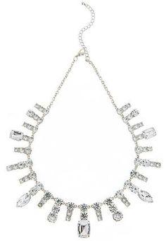 Cato Fashions Crystal Starburst Bib Necklace #CatoFashions #CatoSummerStyle