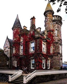 pretty thoughts for future days Grain Silo converted to turret house (castle looking thing) : castle Victorian Castle, Gothic Castle, Dark Castle, Victorian Homes, Gothic Architecture, Beautiful Architecture, Beautiful Buildings, Beautiful Places, Best Of Scotland