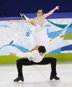 Tessa Virtue & Scott Moir- my latest obsession Go Team CANADA