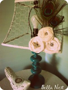 Bella Nest Lampshade Project.....LOVE IT! - Creatively Living Blog